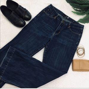Seven7 studio jeans women's flare leg size 8